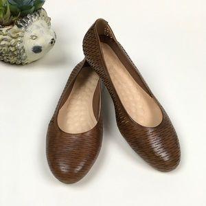 Walking Cradles Blair Comfort Flats Leather Sz 8.5